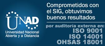 Resultados por auditoria externa al SIG